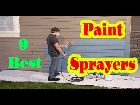 Best Paint Sprayers to Buy in 2017