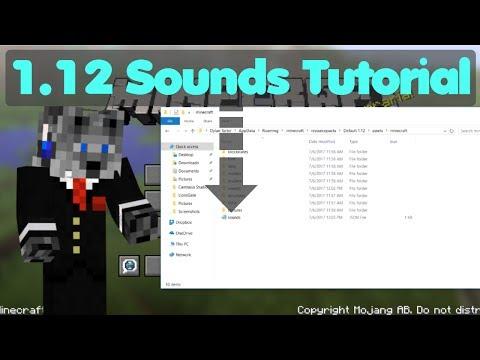 1.12 Sound Resource Pack Tutorial