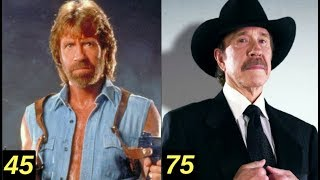 Chuck Norris - From 6 to 77 years old