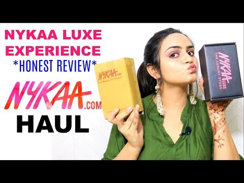 NYKAA Luxury HAUL Highend makeup | My Experience👎👍   |  My first Mac Lipstick