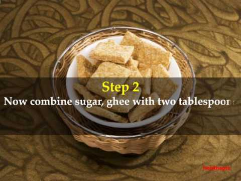 How to make Gajak