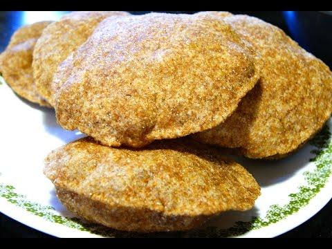 How to make poori/puri with organic whole wheat
