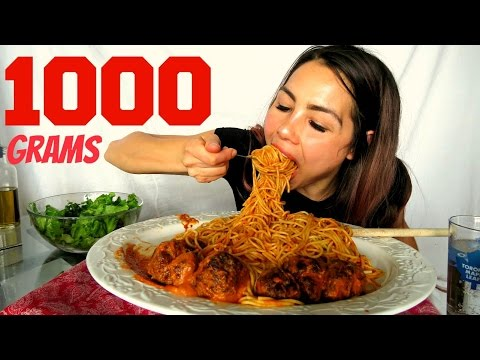 How to make Meatballs & Spaghetti + Pasta sauce from scratch! Mukbang 먹방 15k Giveaway
