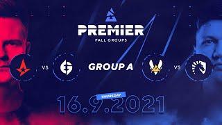 BLAST Premier Fall Groups: Astralis vs. Evil Geniuses, Vitality vs. Team Liquid |  Group A, Day 1