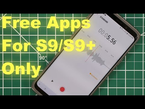 5 Must-Have Apps for Samsung Galaxy S9 / S9 Plus (free & without ads)