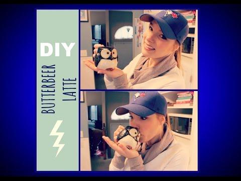 DIY Butterbeer Latte! Oh My Bookish DIY!