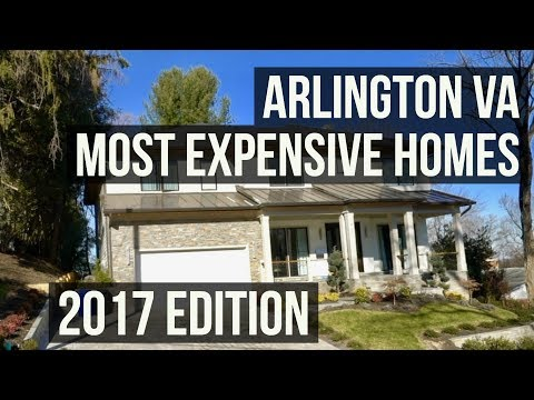 Arlington VA Top 5 Most Expensive Homes That Sold in 2017