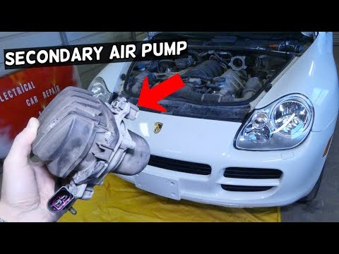 HOW TO REMOVE AND REPLACE SECONDARY AIR PUMP ON PORSCHE CAYENNE