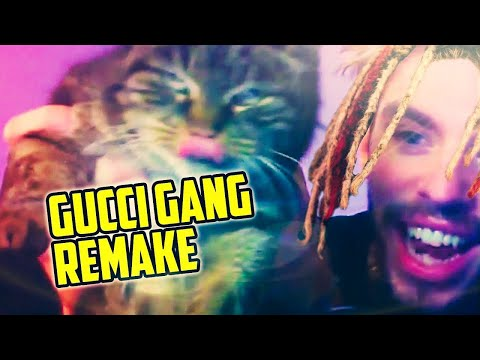 LIL PUMP GUCCI GANG REMAKE + FLP 🔥 (THE LUIGY SHOW #1)