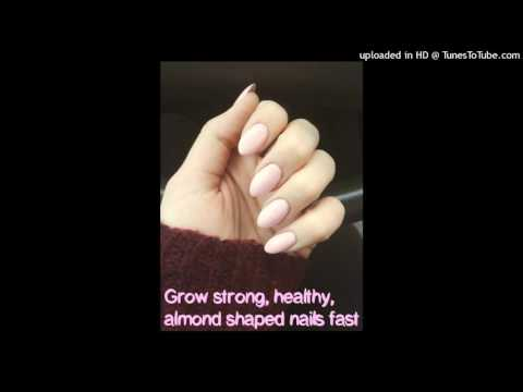 Grow strong, healthy, almond shaped nails fast!  Subliminal