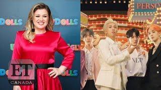 Kelly Clarkson Talks Billboard Music Awards, BTS Fandom