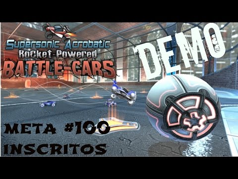 Supersonic Acrobatic Rocket- Powered Battle-Cars/ CONG_PLAY/ Meta #100 inscritos