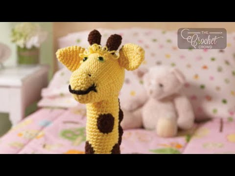 How To Crochet A Giraffe: Amigurumi Stuffed Toy