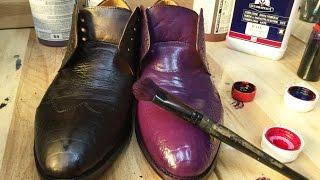 Покраска обуви СУПЕР ЭФФЕКТ