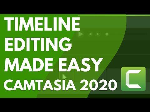 Camtasia 9/3: Ripple Move & Extend Frame