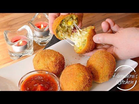 Cheese Balls Recipe  - Ramzan Special Dish - Veg Cheese Corn Balls - Vegetable Cheese Balls *Easy*