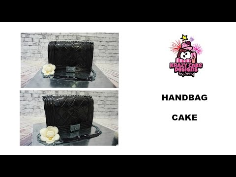 How to make Chanel bag cake/ เค้กกระเป๋า