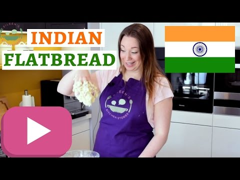 Indian GARLIC and BUTTER NAAN Recipe