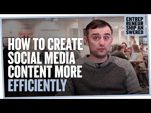 How to Create Social Media Content More Efficiently