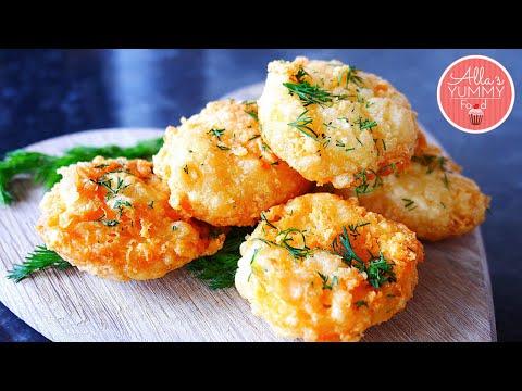 Fried Cheese Bites | Cheese Balls Recipe | Сырные шарики