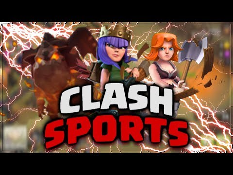 INVISIBLE TROOP GLITCH - Clash Of Clans HACK - Clash Sports 2018 - TROLL / FUNNY / SPELL Moments!