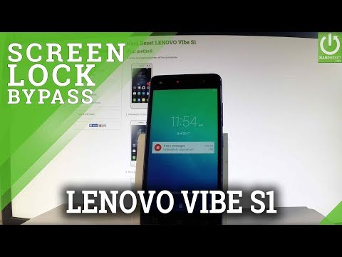 LENOVO Vibe S1 HARD RESET / Bypass Password / Recovery Mode