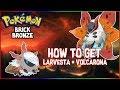 How To Get Larvesta And Volcarona! | Pokemon Brick Bronze #104