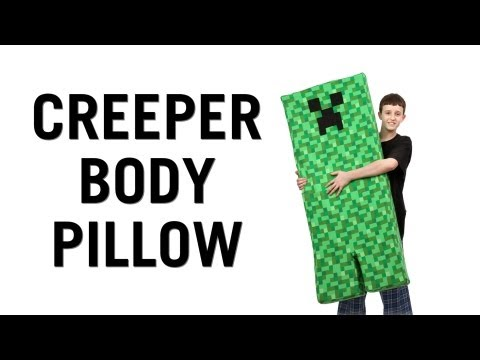 Creeper Body Pillow from ThinkGeek