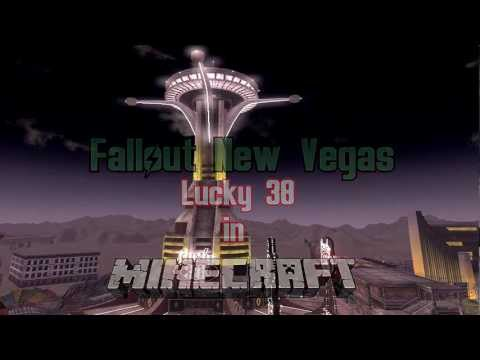Minecraft Build #1 - Fallout Lucky 38