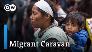 Caravan migrants face danger of human trafficing | DW English