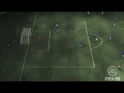 berbatov amazing goal fifa 09 ps3