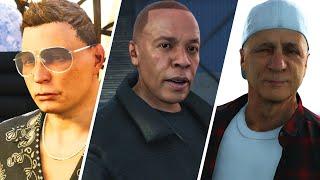 Dr Dre, Jimmy Iovine and Scott Storch Cameos GTA V Online - Cayo Perico Heist