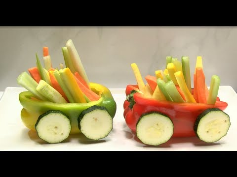 How to Make Train in Vegetables- HogarTv By Juan Gonzalo Angel
