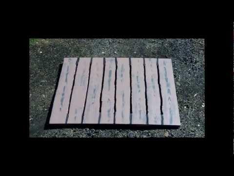 Foam board made to look like wood prop Ep. 32