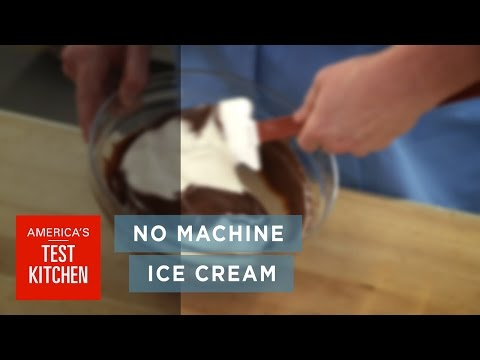How to Make Homemade Chocolate Ice Cream Without a Machine