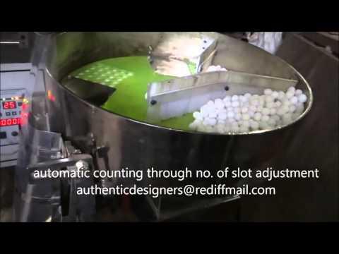Naphthalene Balls Packing Machine By Authentic Designers, Noida