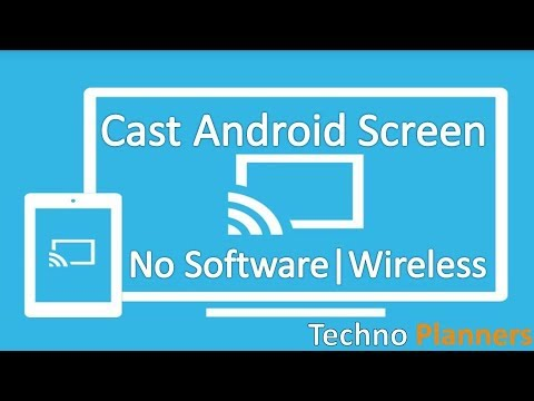 How to Mirror your Android Screen to Windows 10 PC | No Root | Wireless | No Software
