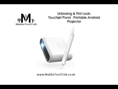 Unboxing & First Look - Touchjet Pond Portable Android Projector