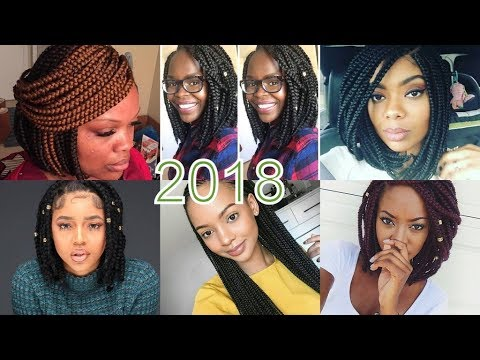 BRAIDS HAIRSTYLES 2018 PICTURES: LATEST AFRICAN COLLECTION