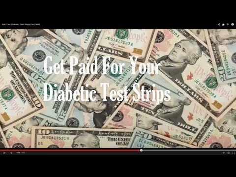 Sell Your Diabetic Test Strips For Cash -Avg Payout $150