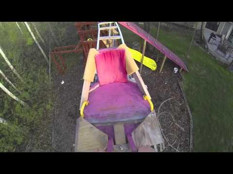 Riding a Backyard Roller Coaster