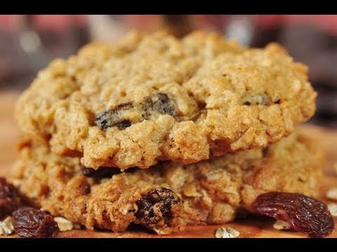 Oatmeal Cookies Recipe Demonstration - Joyofbaking.com