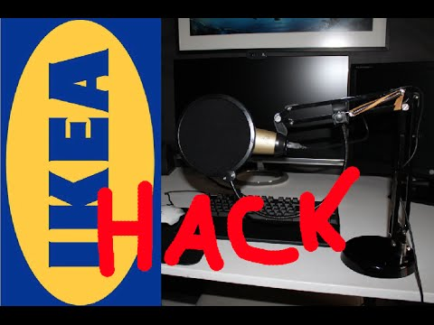 How to make a (Microphone-stand) DIY (IKEA HACK)