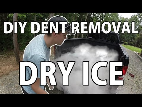 Does Dry Ice Remove Dents?