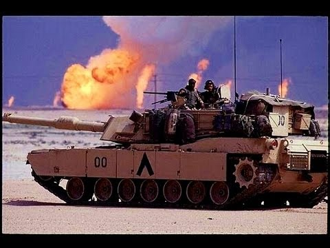 Tank footage- M1 Abrams Battle, Gulf War 1991