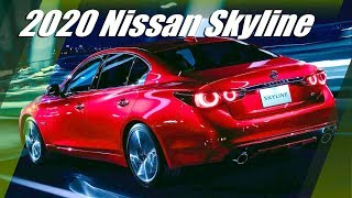 2020 Nissan Skyline (Infiniti Q50) Unveiled With 400 HP And GT-R Looks