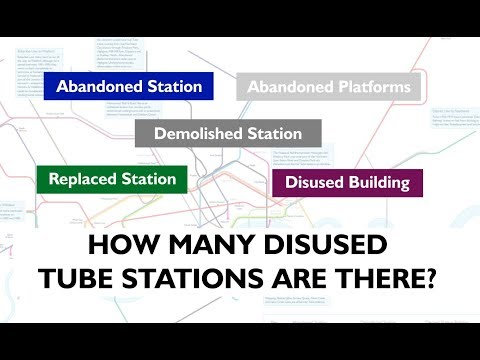 How Many Abandoned Tube Stations Are There?