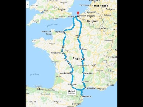 MOTORHOME ROAD TRIP FRANCE TO SPAIN DAY 1 Calais