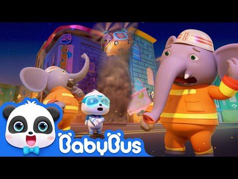 Super Panda Fireman, Action!   Rescue Grandpa Turtle   Super Panda Rescue Team   BabyBus
