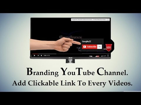 YouTube Channel Branding - How To Add Subscribe Button On YouTube Video | YouTube Branding |